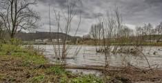 Essen Kettwig - Hochwasser im Bereich Promenadenweg (150112-hochwasser-005.jpg)